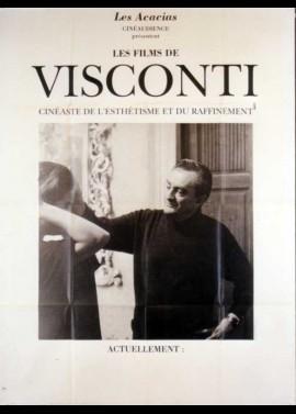 affiche du film VISCONTI CINEASTE DE L'ESTHETISME ET DU RAFFINEMENT