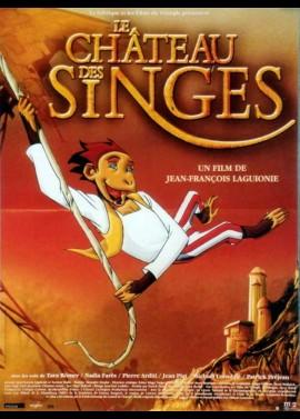 affiche du film CHATEAU DES SINGES (LE)