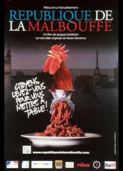 affiche du film REPUBLIQUE DE LA MALBOUFFE