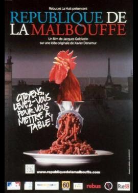 REPUBLIQUE DE LA MALBOUFFE movie poster