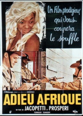 affiche du film ADIEU AFRIQUE