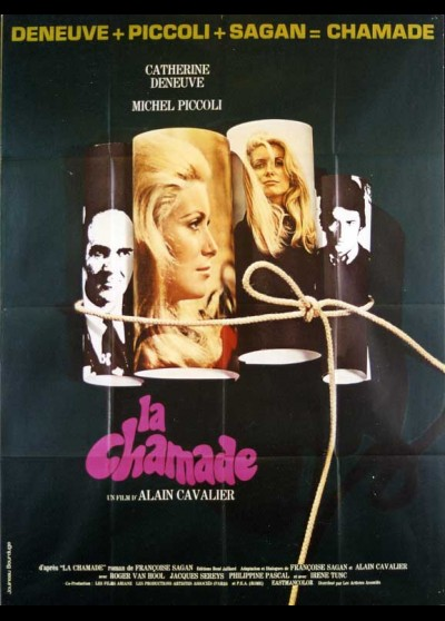 CHAMADE (LA) movie poster