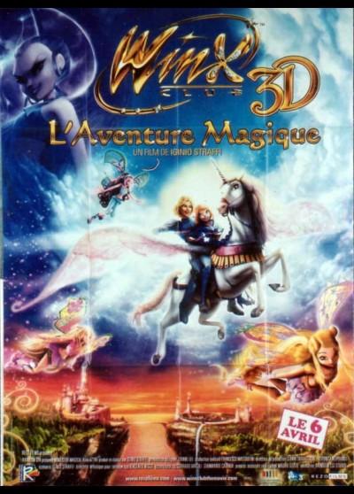 WINX CLUB 3D MAGIC ADVENTURE movie poster