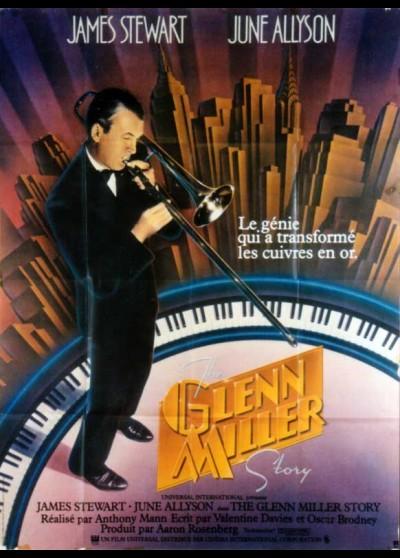 GLENN MILLER STORY (THE) movie poster