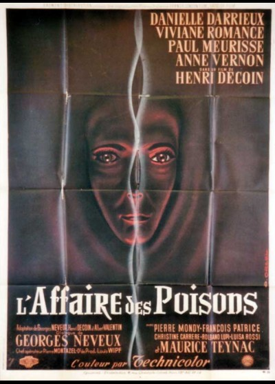 affiche du film AFFAIRE DES POISONS (L')