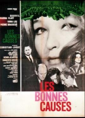 affiche du film BONNES CAUSES (LES)