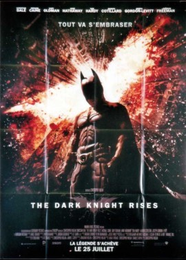 DARK KNIGHT RISES (THE) movie poster