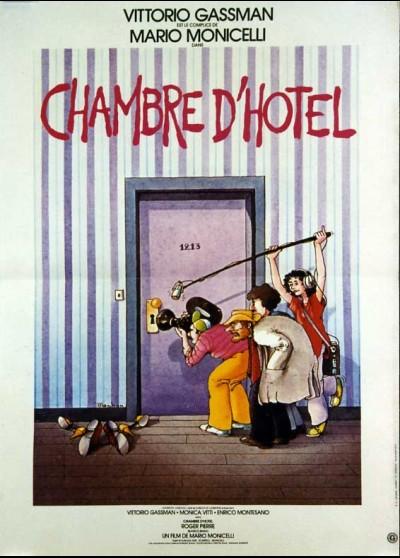 affiche du film CHAMBRE D'HOTEL