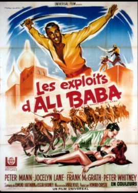 SWORD OF ALI BABA (THE) movie poster
