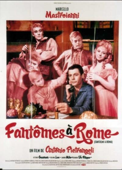 affiche du film FANTOMES A ROME