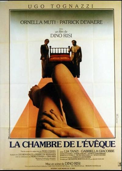 affiche du film CHAMBRE DE L'EVEQUE (LA)