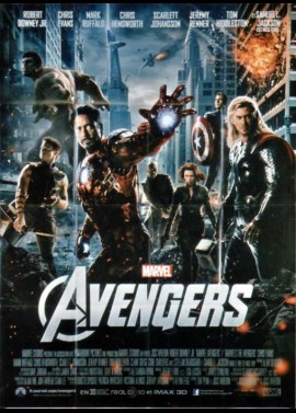 affiche du film AVENGERS (THE)