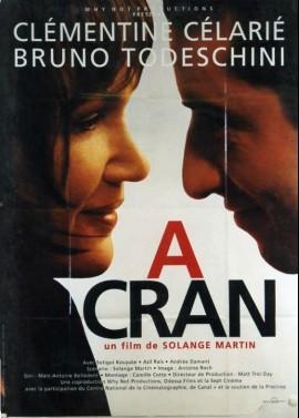 affiche du film A CRAN