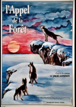 affiche du film APPEL DE LA FORET (L')