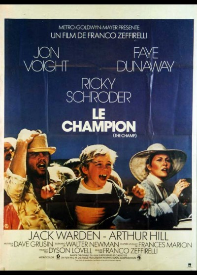 CHAMP (THE) movie poster