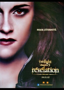 TWILIGHT SAGA BREAKING DAWN PART 2 'THE) movie poster