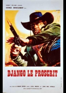 affiche du film DJANGO LE PROSCRIT