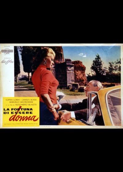 affiche du film CHANCE D'ETRE FEMME (LA)