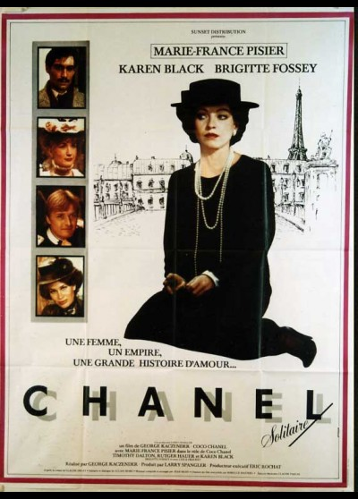 affiche du film CHANEL SOLITAIRE