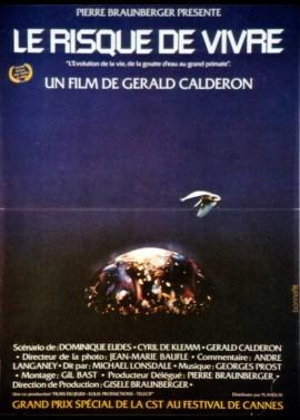 affiche du film RISQUE DE VIVRE (LE)