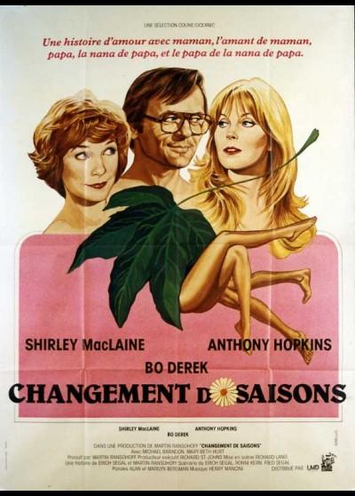 affiche du film CHANGEMENT DE SAISONS