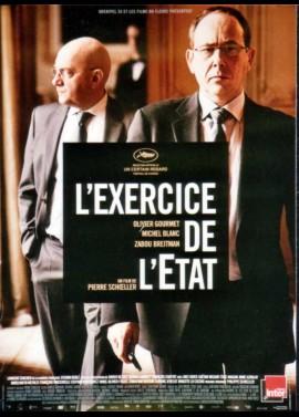 affiche du film EXERCICE DE L'ETAT (L')
