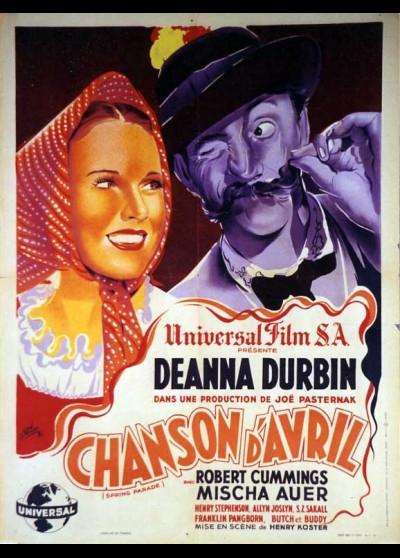 affiche du film CHANSON D'AVRIL