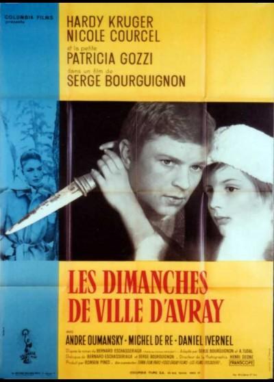 affiche du film DIMANCHES DE VILLE D'AVRAY (LES)
