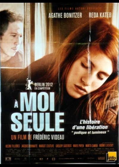 affiche du film A MOI SEULE