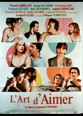 ART D'AIMER (L') movie poster