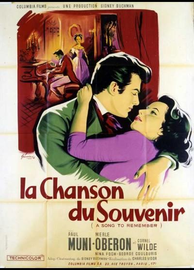 affiche du film CHANSON DU SOUVENIR (LA)