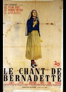 affiche du film CHANT DE BERNADETTE (LE)