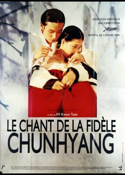 affiche du film CHANT DE LA FIDELE CHUNHYANG (LE)