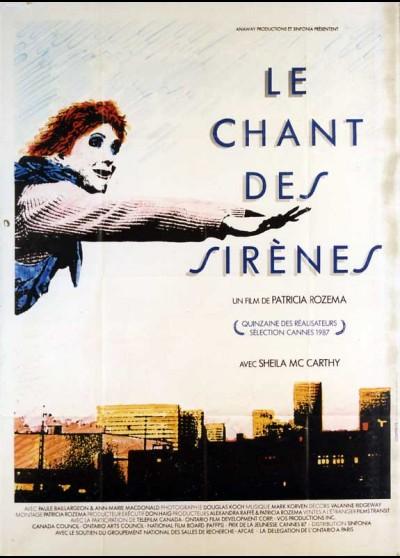 affiche du film CHANT DES SIRENES (LE)