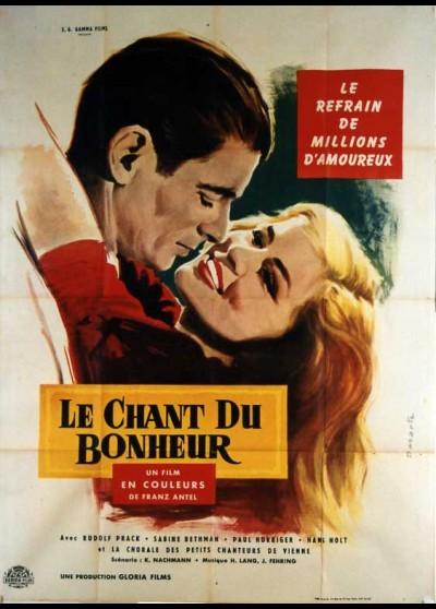 affiche du film CHANT DU BONHEUR (LE)