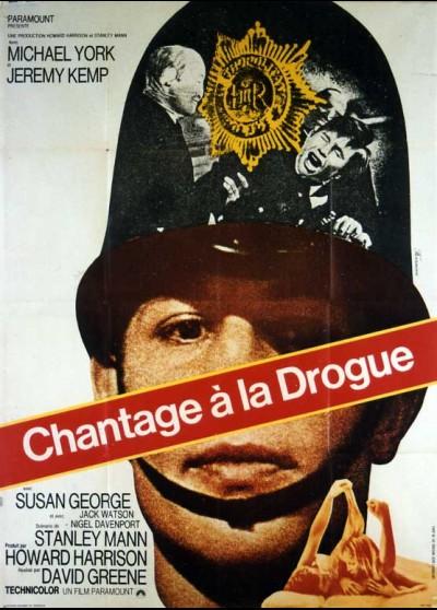 affiche du film CHANTAGE A LA DROGUE