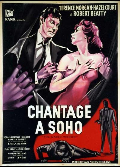 affiche du film CHANTAGE A SOHO