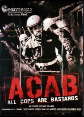 affiche du film ACAB ALL COPS ARE BASTARDS