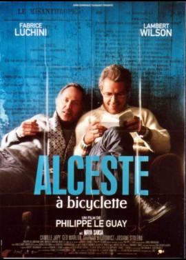 affiche du film ALCESTE A BICYCLETTE