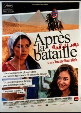 affiche du film APRES LA BATAILLE