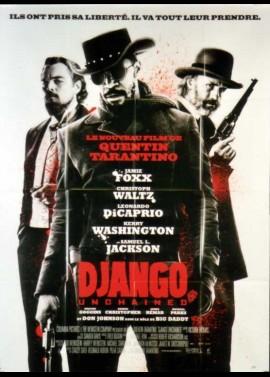 affiche du film DJANGO UNCHAINED