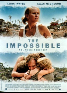 IMPOSSIBLE (THE) movie poster