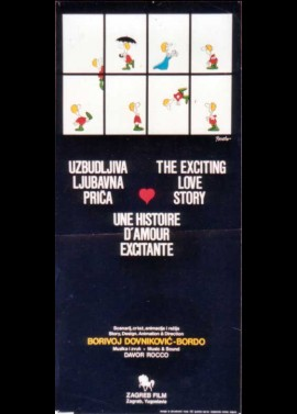 affiche du film UNE HISTOIRE D'AMOUR EXCITANTE / THE EXCITING LOVE STORY