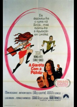 affiche du film FILLE AU PISTOLET (LA)