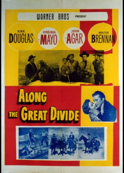 ALONG THE GREAT DIVIDE movie poster