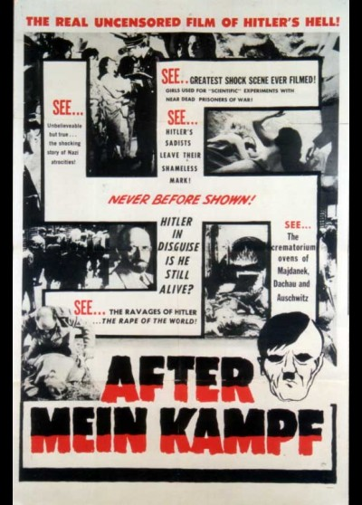 AFTER MEIN KAMPF movie poster