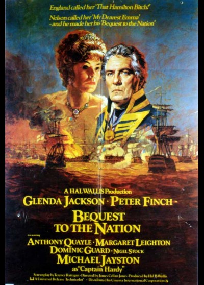 BEQUEST TO THE NATION movie poster