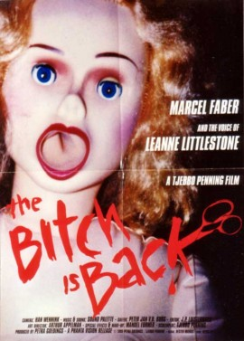 BITCH IS BACK (THE) movie poster