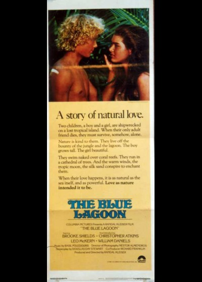BLUE LAGOON (THE) movie poster