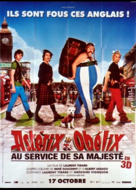 ASTERIX ET OBELIX AU SERVICE DE SA MAJESTE movie poster